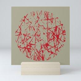 Abstract Scribble Design Mini Art Print