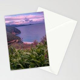 Greek Peninsula Landscape Stationery Cards