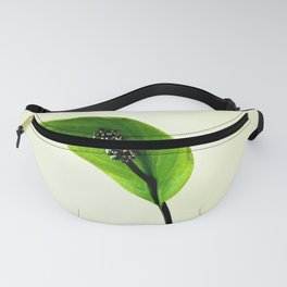 The Green Hoodie Fanny Pack