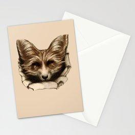 Hallo Fuchs! Mixed Media Art Stationery Cards