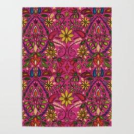 aziza pink Poster