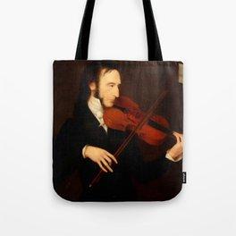 Niccolò Paganini by Daniel Maclise (1831) Tote Bag