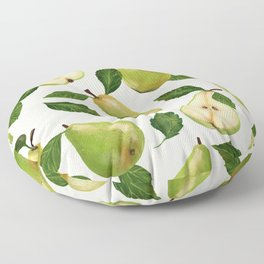 Green Pears Floor Pillow