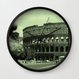 Colosseum #2 Wall Clock