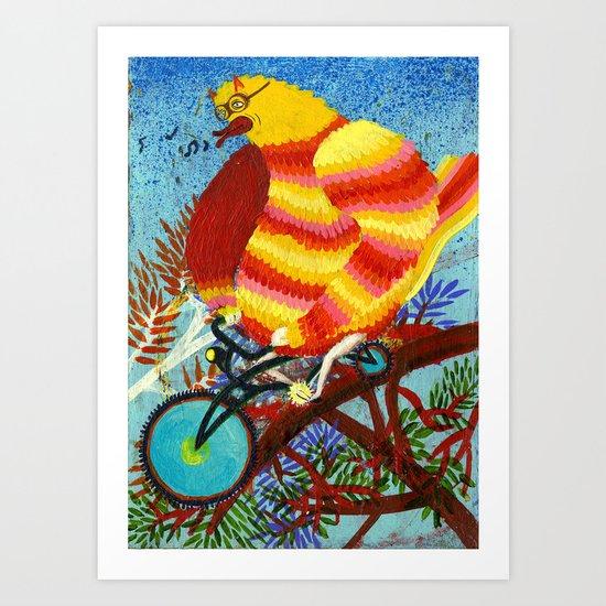 birdy birdy Art Print