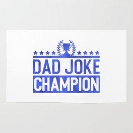 Dad Joke Champion Rug