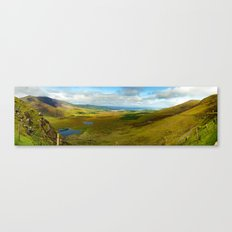Conner Pass Panorama Canvas Print