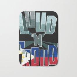 The Philippines Pride Loud N Proud Bath Mat