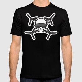 FPV Drone Racing Skull T-shirt