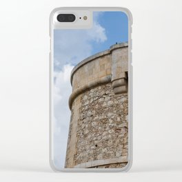 Alcaufar, Menorca Clear iPhone Case