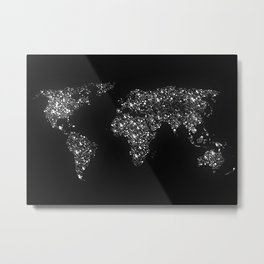 Tiny light spec in the great big universe Metal Print