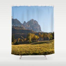 Dolomites 24 - Italy Shower Curtain