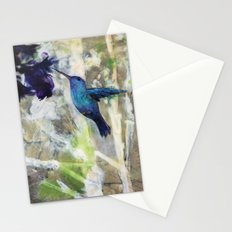 Hummingbird Haze Stationery Cards