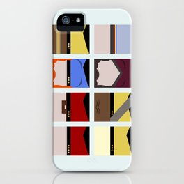 Enterprise 1701 D - Minimalist Star Trek TNG The Next Generation - startrek - Trektangles  iPhone Case