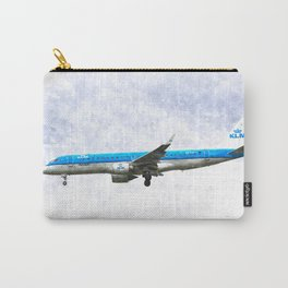 KlM Embraer 190 Carry-All Pouch