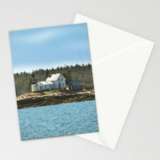 Lighthouse Island - Maine Stationery Cards