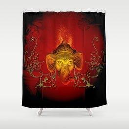 The god Ganesha Shower Curtain