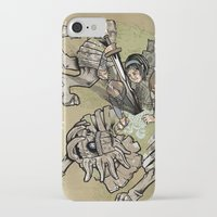shadow of the colossus iPhone & iPod Cases featuring fourteenth colossus by CBAD