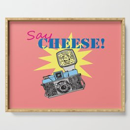 Say cheese! collection: Diana camera Serving Tray