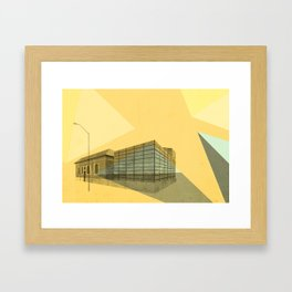 Bloor Gladstone Branch Framed Art Print