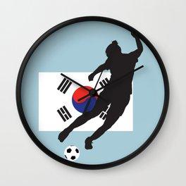 Korea Republic - WWC Wall Clock