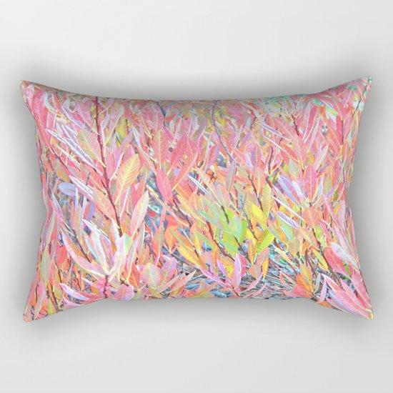 Autumn Pastels Rectangular Pillow