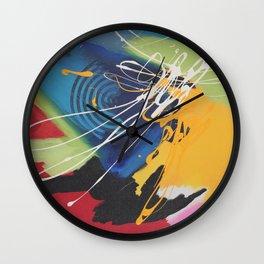 Ab Fab Wild Child Wall Clock