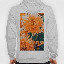Coral Floral Hoody