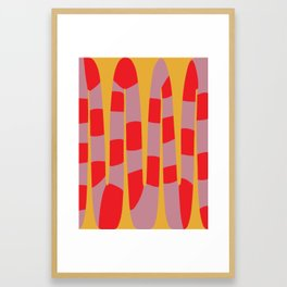 Abstract Snake Framed Art Print