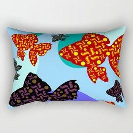 Aquarium 1 Rectangular Pillow