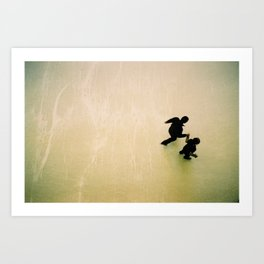 dance for two  Art Print
