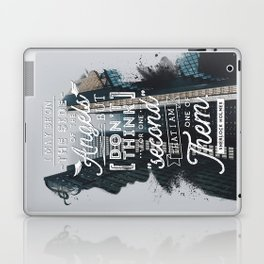 Sherlock - Angels Laptop & iPad Skin
