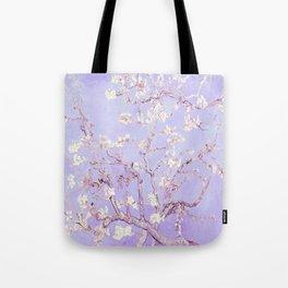 Vincent Van Gogh Almond Blossoms  Lavender Tote Bag