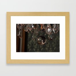 Versailles Chandelier Framed Art Print