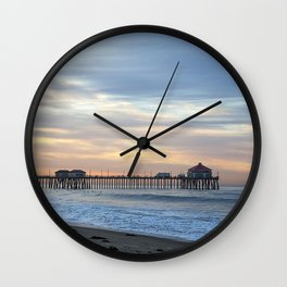 Pastel Mornings Wall Clock