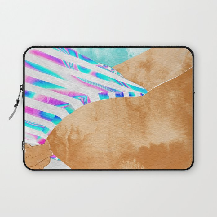 Freestyle #painting #illustration Laptop Sleeve