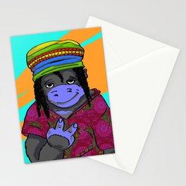 Gorrila Hippie Stationery Cards