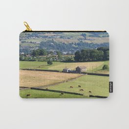 Summer fields - West Yorkshire Dales landscape near Luddeneden Carry-All Pouch