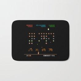 Mario Invaders Bath Mat