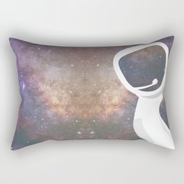 earth from above Rectangular Pillow