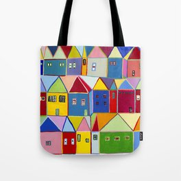 Little Houses Tote Bag