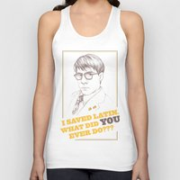 rushmore Tank Tops featuring Rushmore by Michelle Eatough