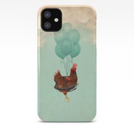 Chickens can't fly 02 iPhone Case