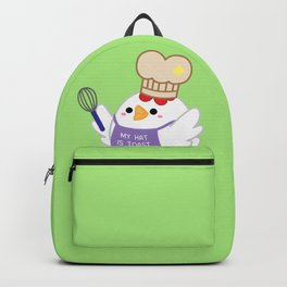 Chef Chicken Backpack