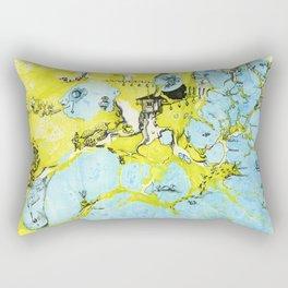 #100 The Map Room Rectangular Pillow