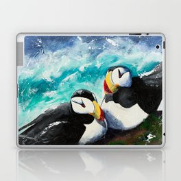 Puffins - Always together - by LiliFlore Laptop & iPad Skin