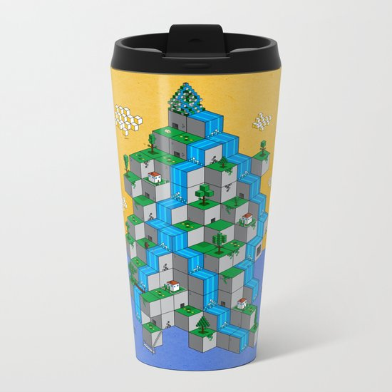 Ecubesystem Metal Travel Mug