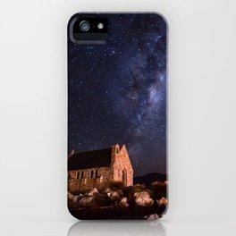Lake Tekapo, New Zealand Night Sky iPhone Case