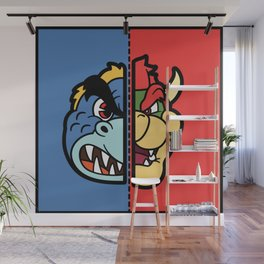 Old & New Bowser Wall Mural