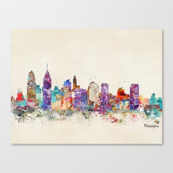 philadelphia pennsylvania Canvas Print